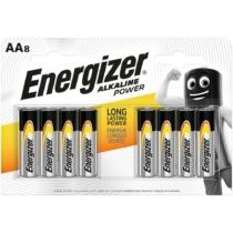 Energizer Alkaline Power Alkáli Tartós Ceruza Elem AA LR6 BL4+4